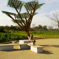 Solar Tree-Outdoor Solar energy lighting tree Landscape lighting with Light sensor