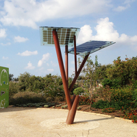 Solar trees, an energy display you've never seen before.